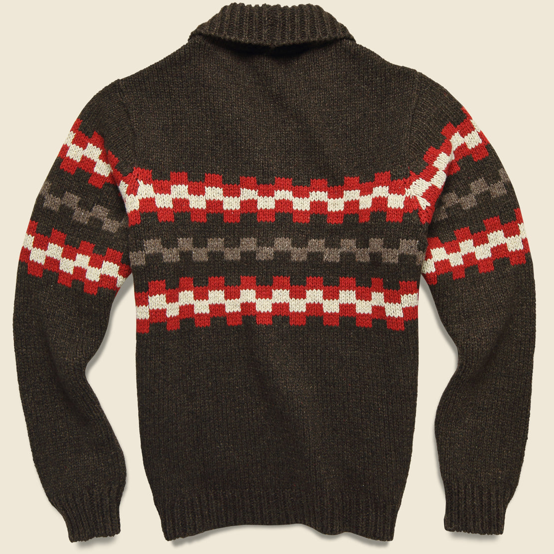 New Mexico Wool Sweater - Chocolate