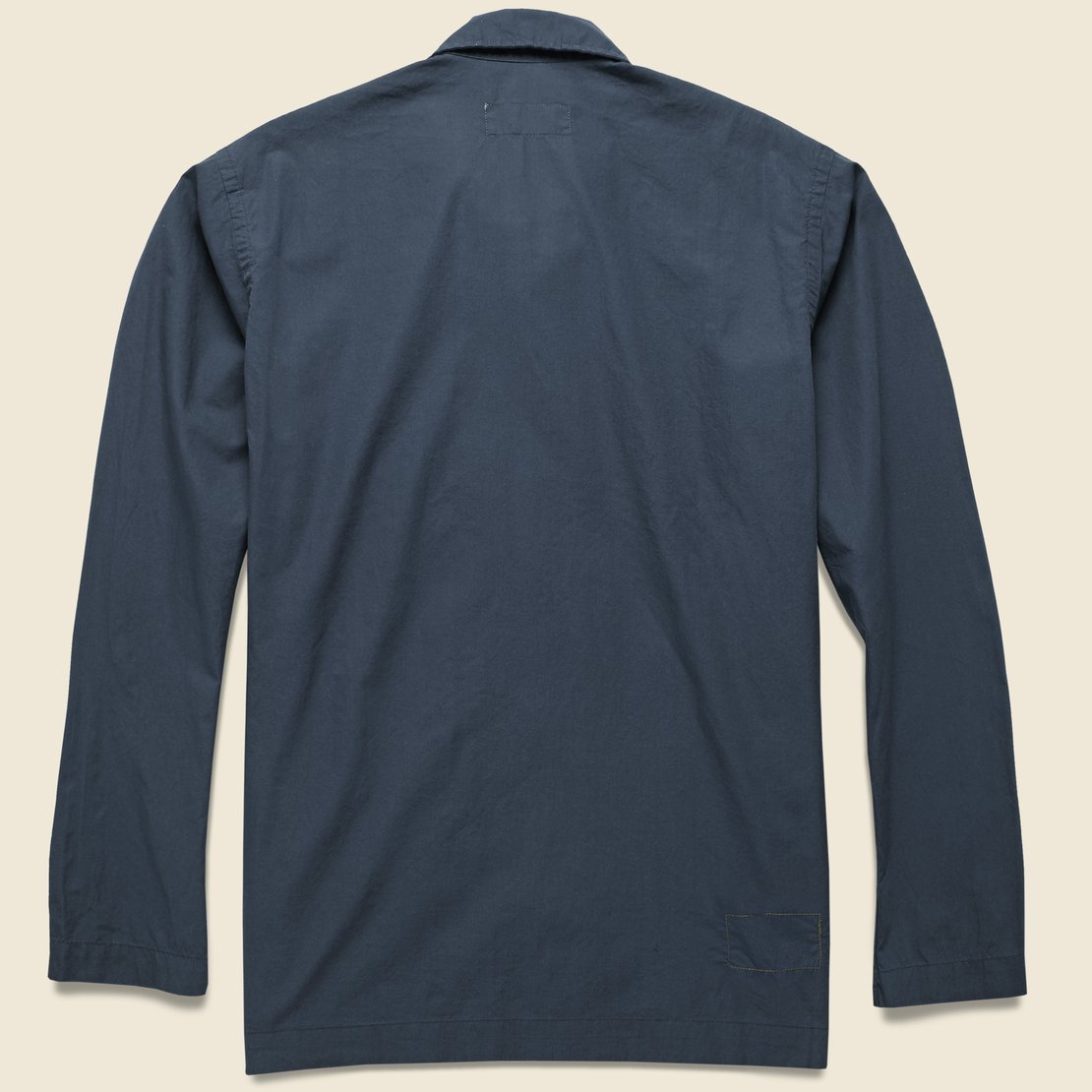 Bakers Poplin Overshirt - Navy