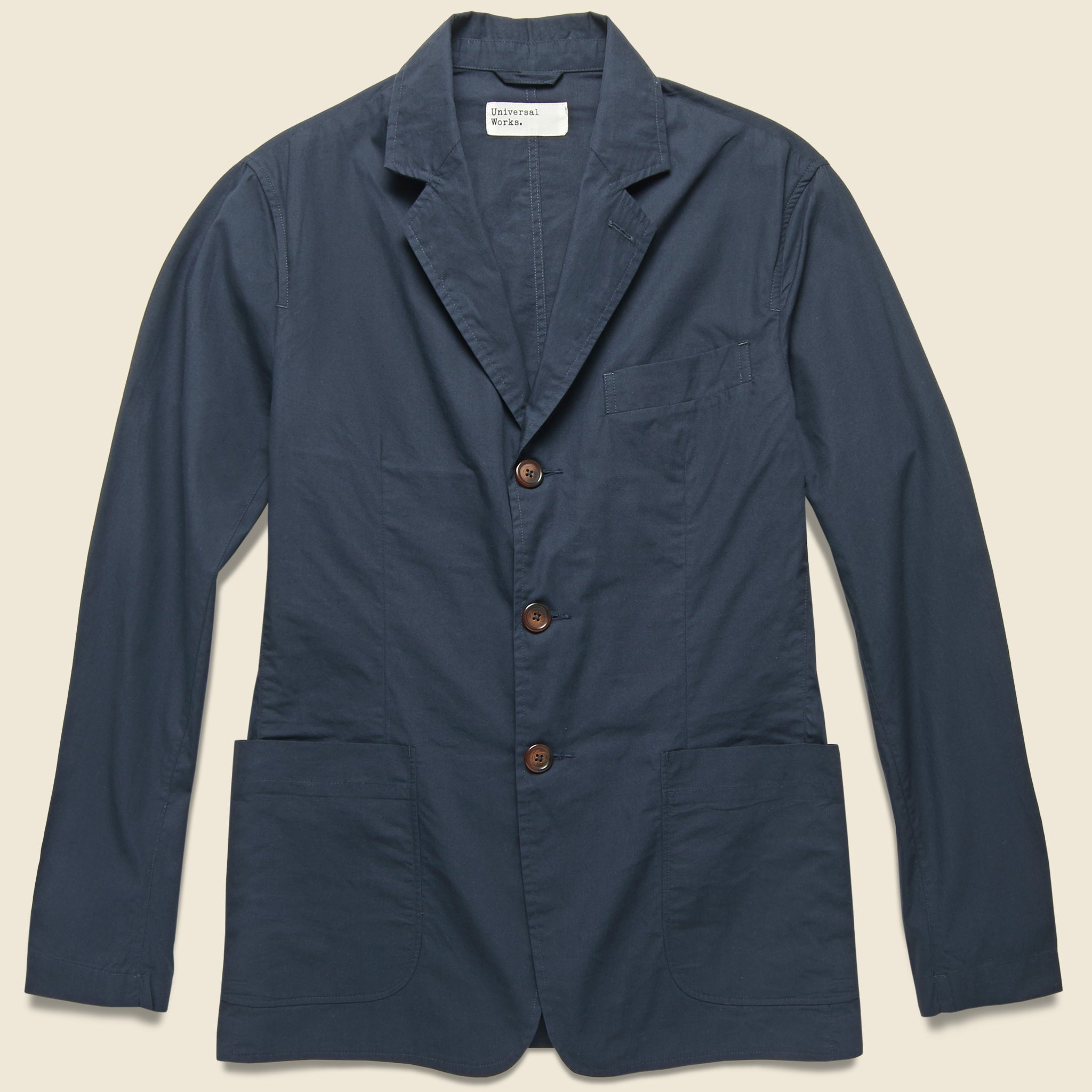 711b13c70e London Poplin Jacket - Navy