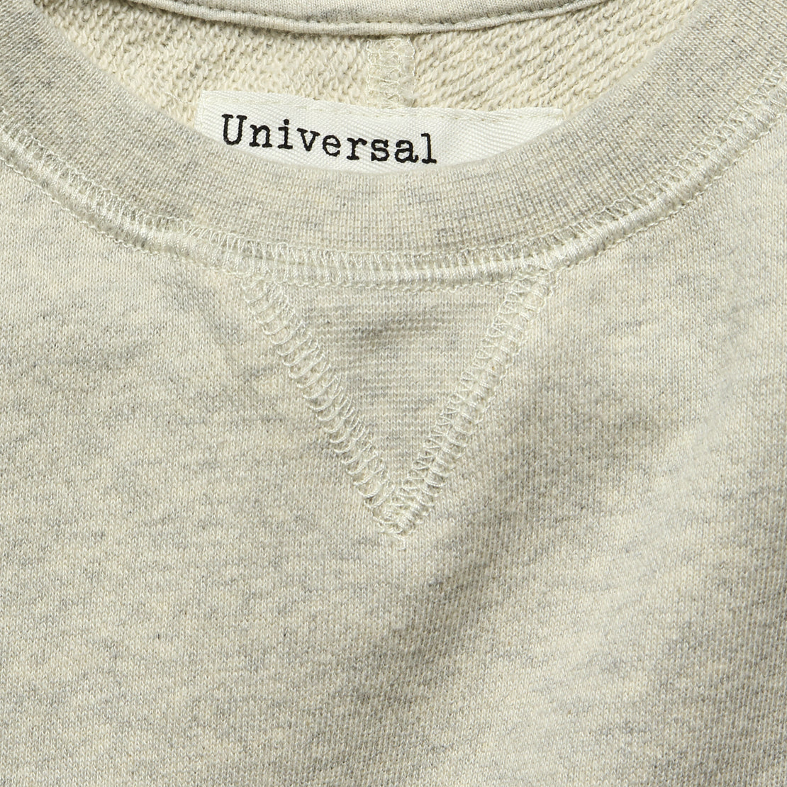 Crew Fleece Sweatshirt - Sand Marl