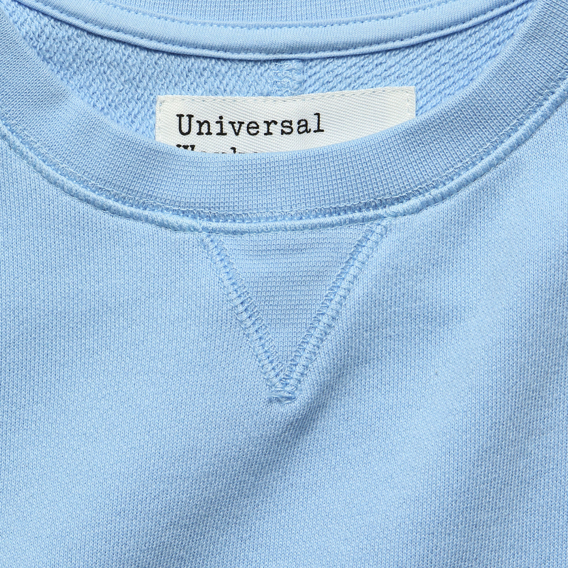 Crew Fleece Sweatshirt - Sky Blue