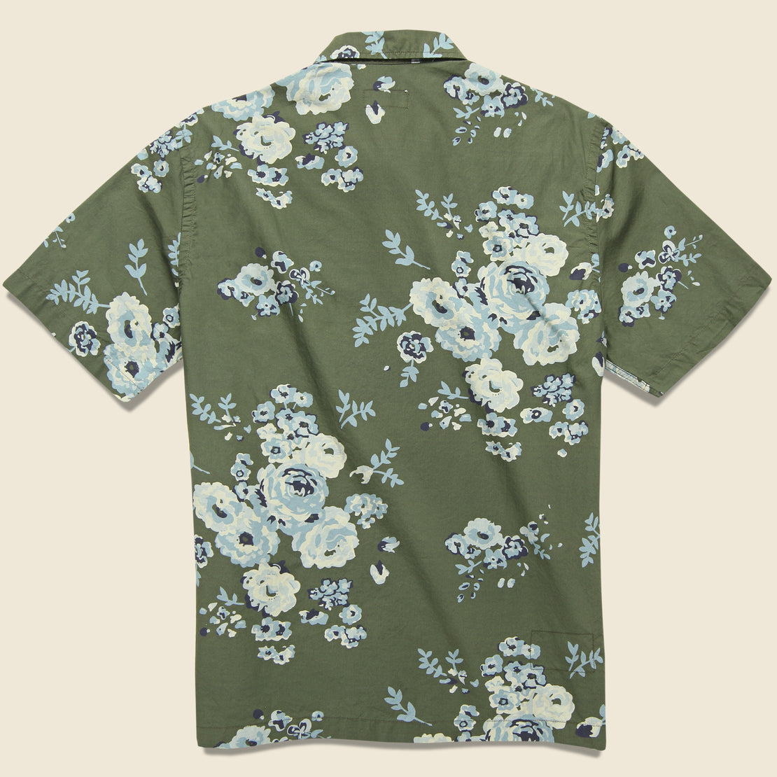 Road Shirt - Olive Flower