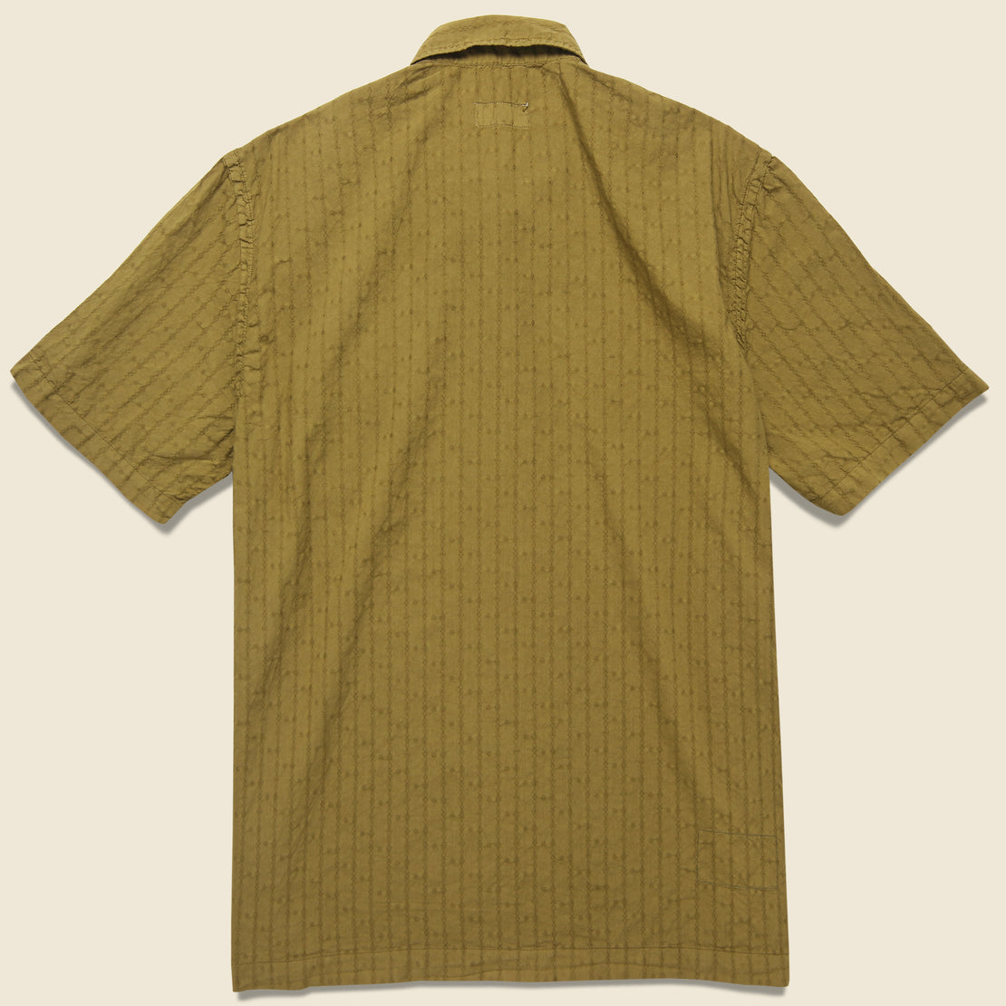 Road Shirt - Khaki Jacquard