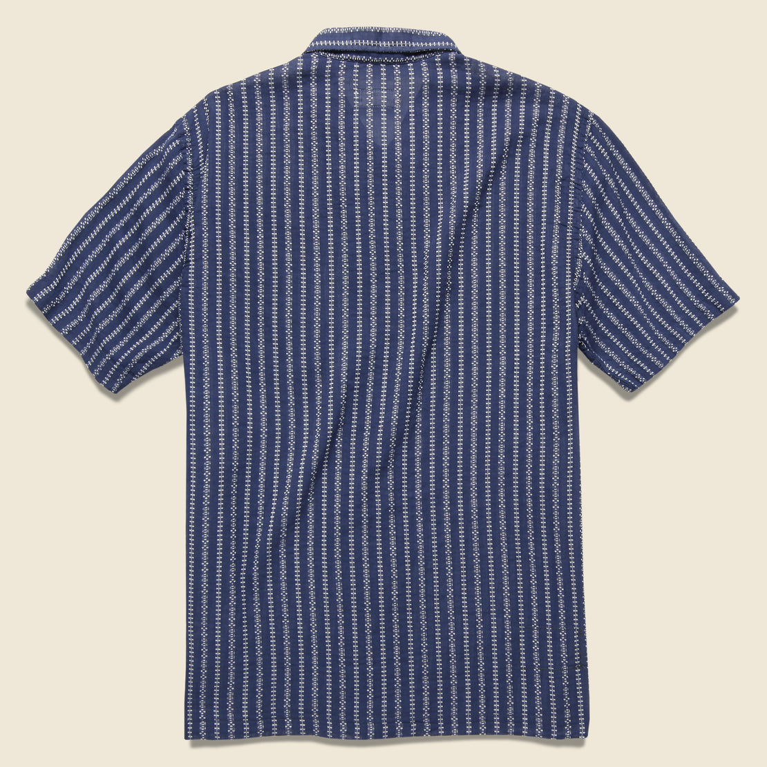Road Shirt - Navy Hendrix Stripe