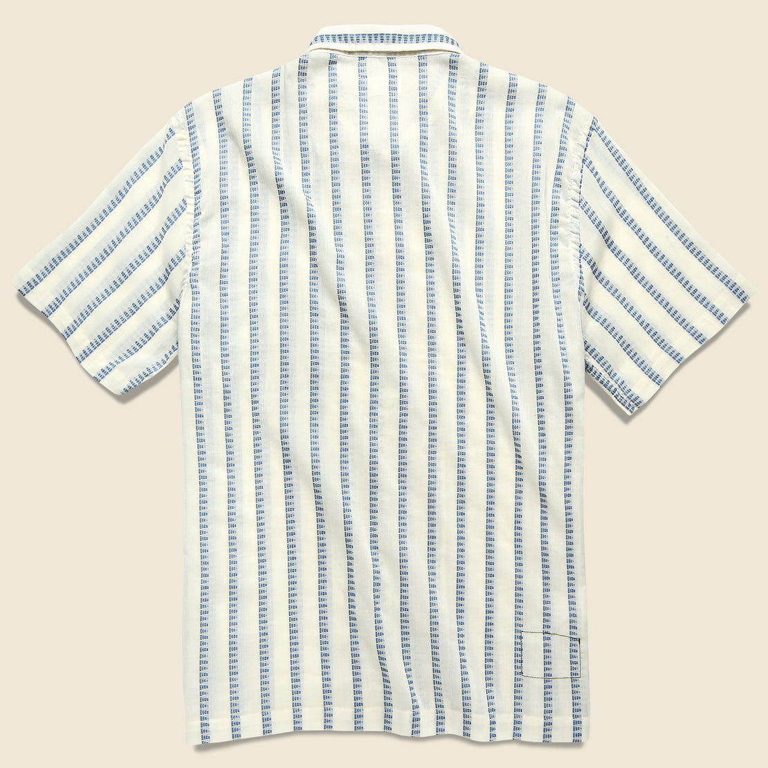 Road Shirt - White Hendrix Stripe