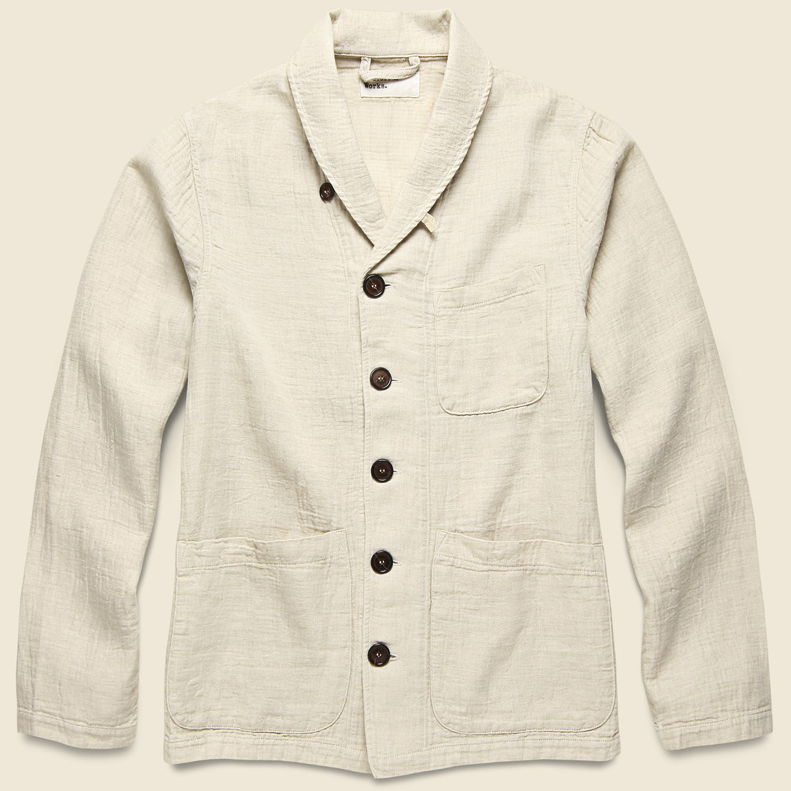 Universal Works Prairie Jacket - Natural