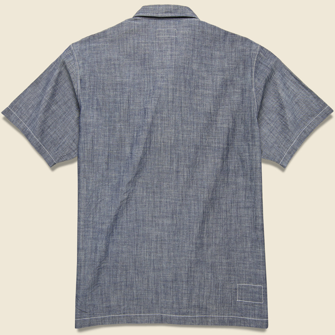 The Summer Overshirt - Indigo Chambray