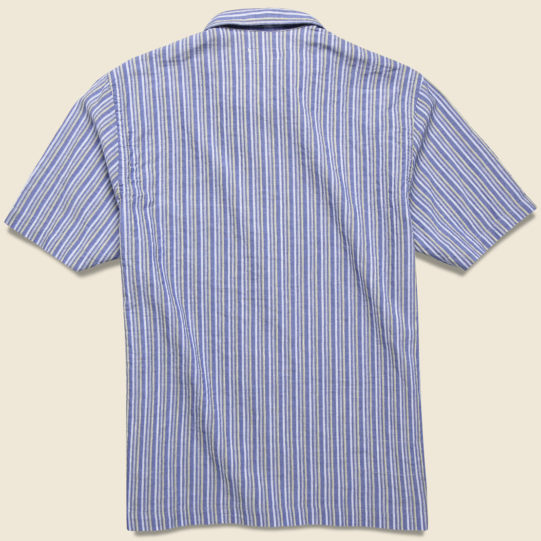 Road Shirt - Blue Elton 2 Stripe