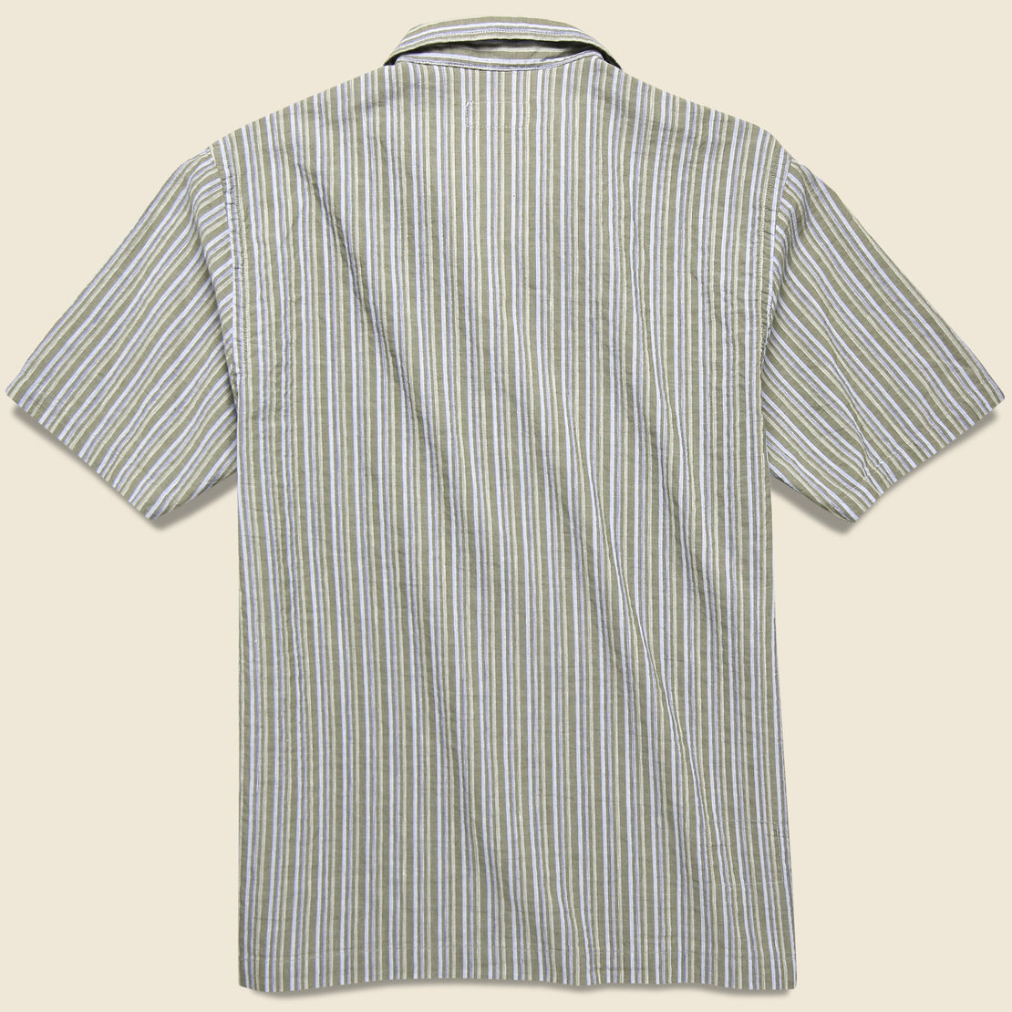Road Shirt - Olive Elton 2 Stripe