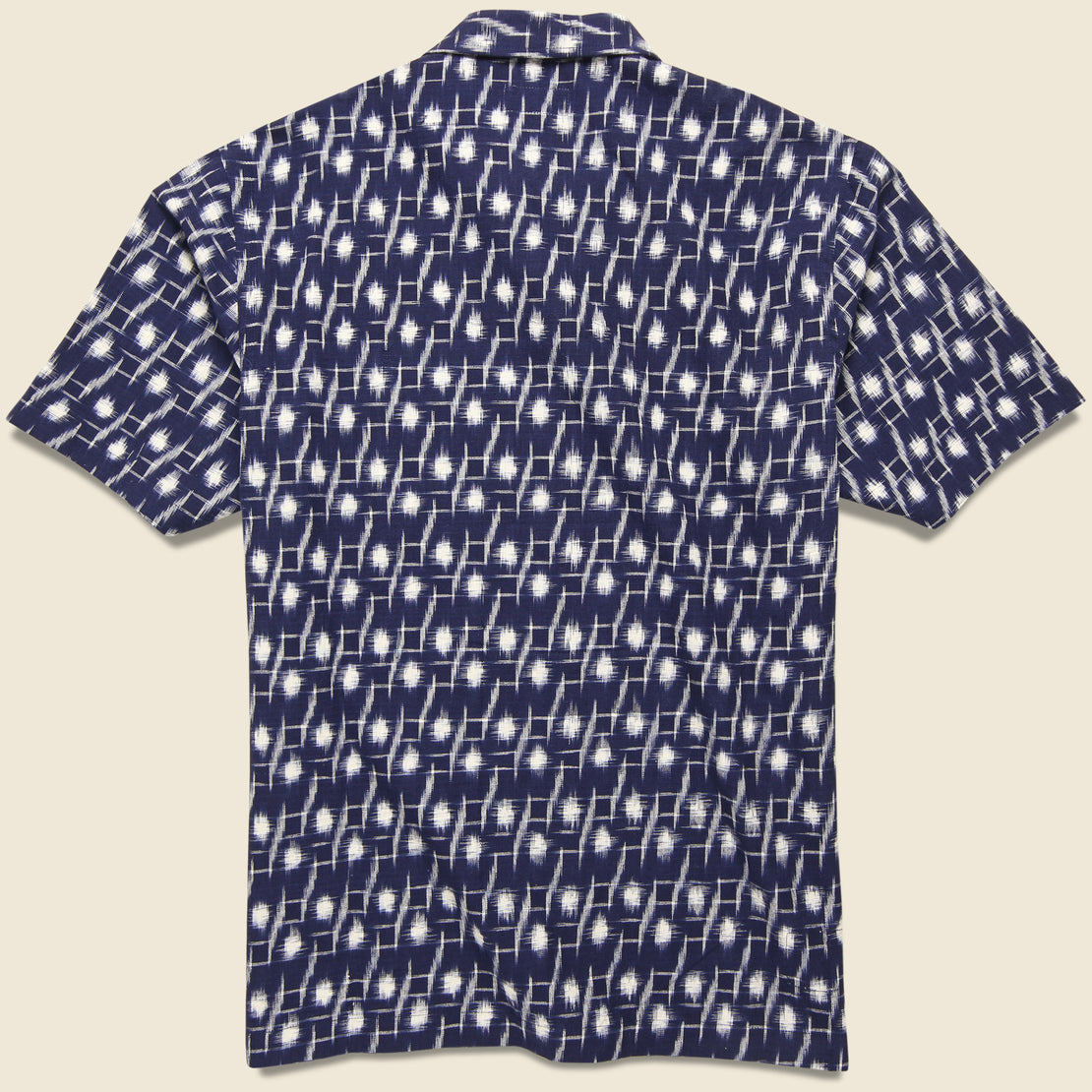 Ikat Road Shirt - Indigo