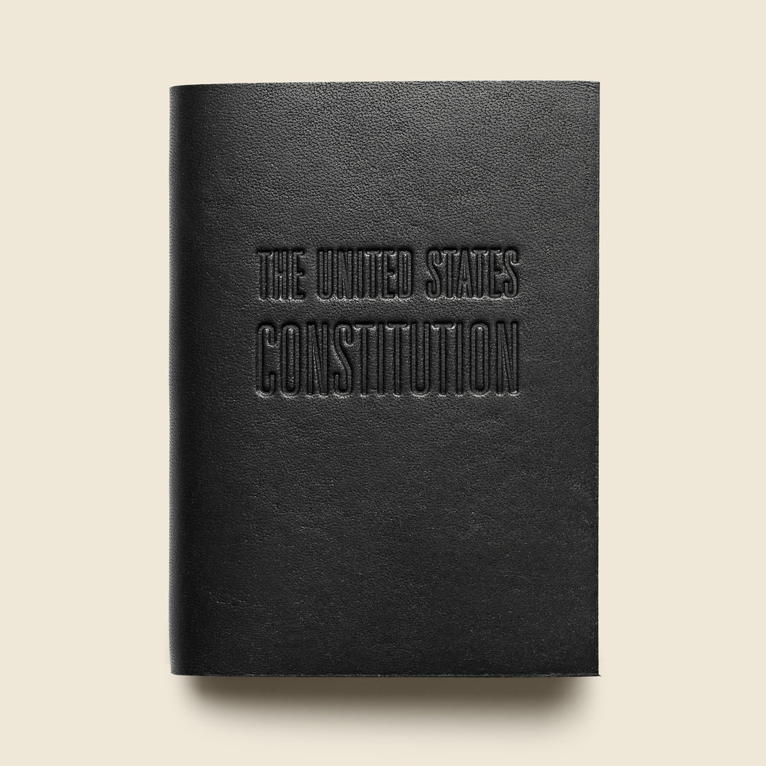 Bookstore Mini Constitution - Black Leather