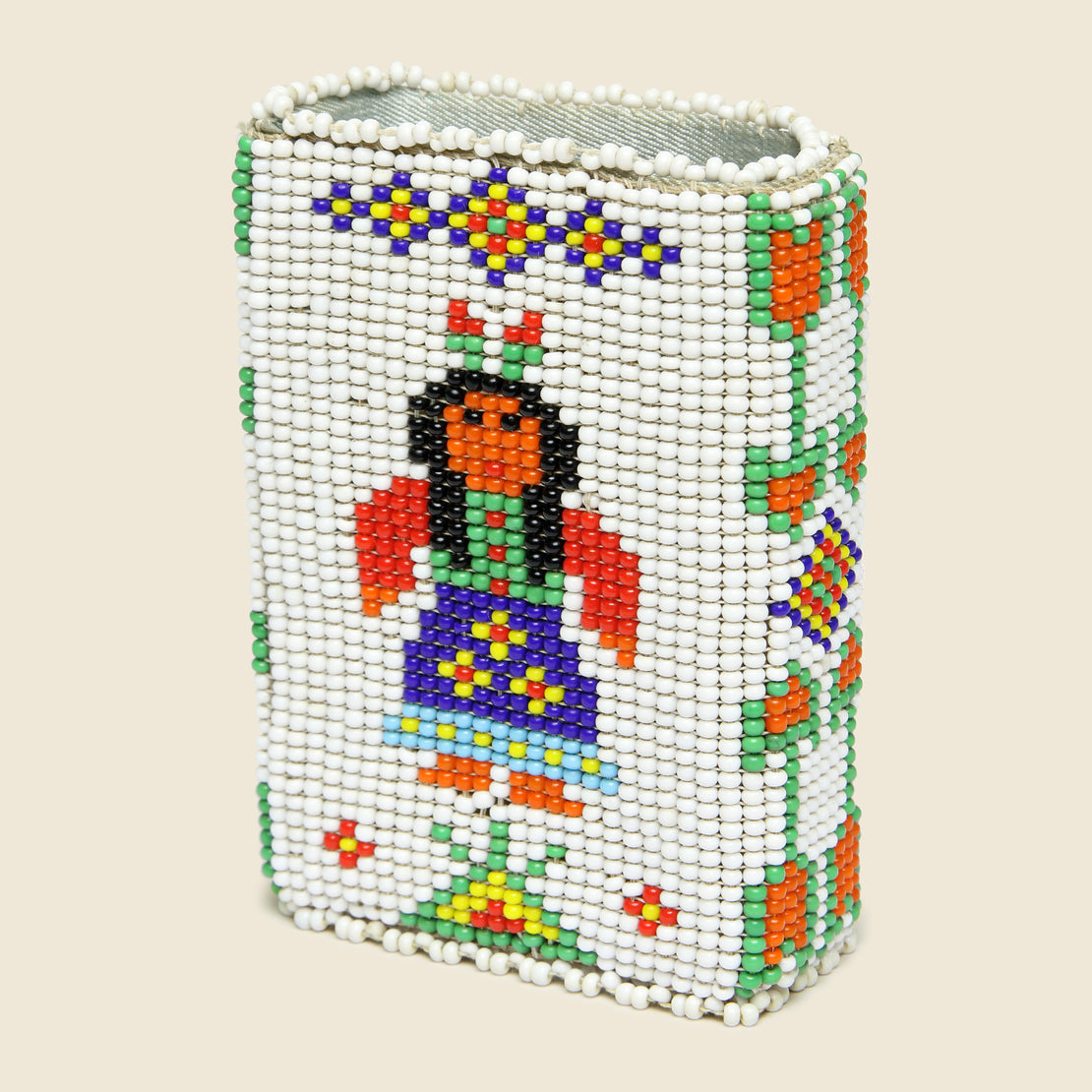 Beaded Cigarette Case