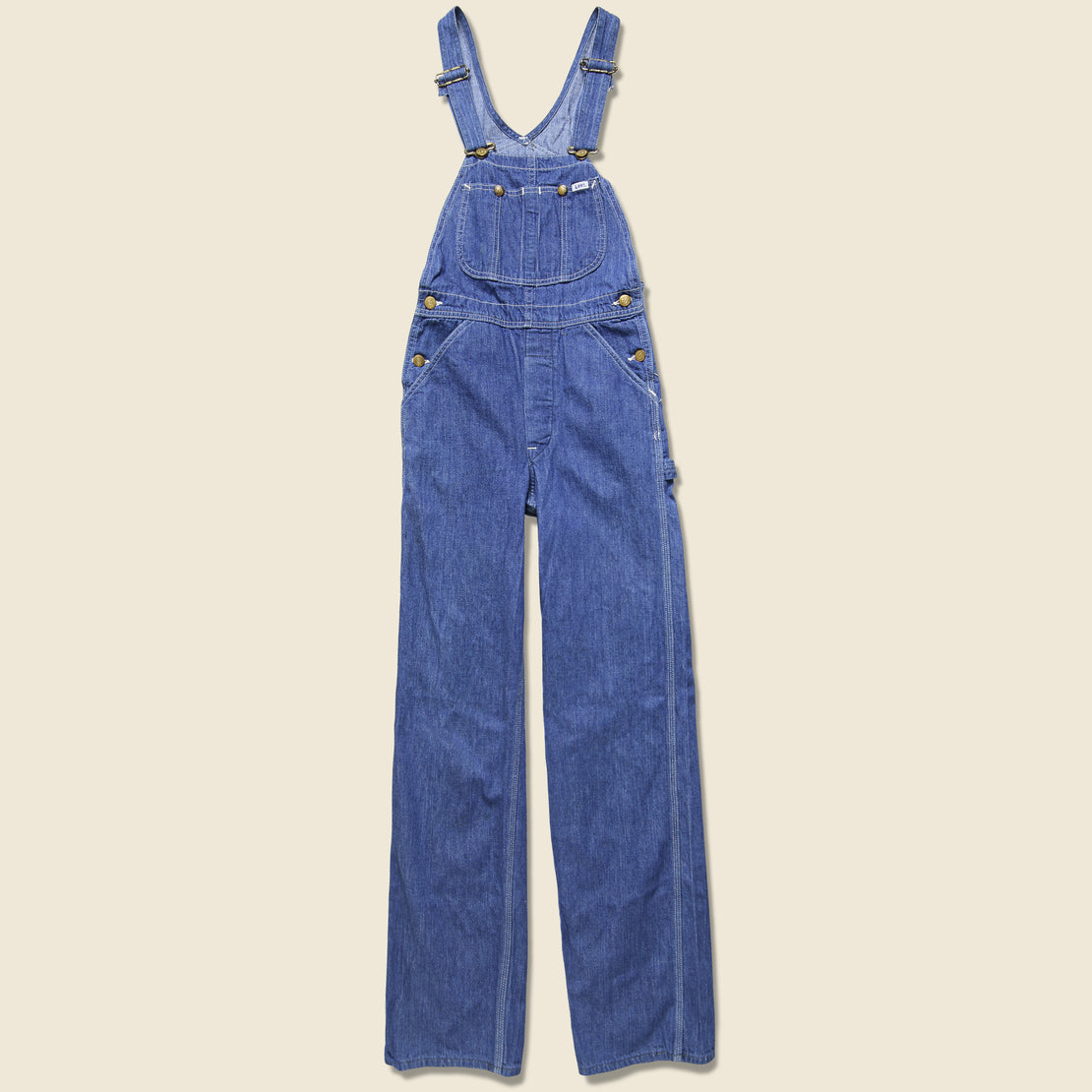 Vintage Lee Denim Overalls - Indigo