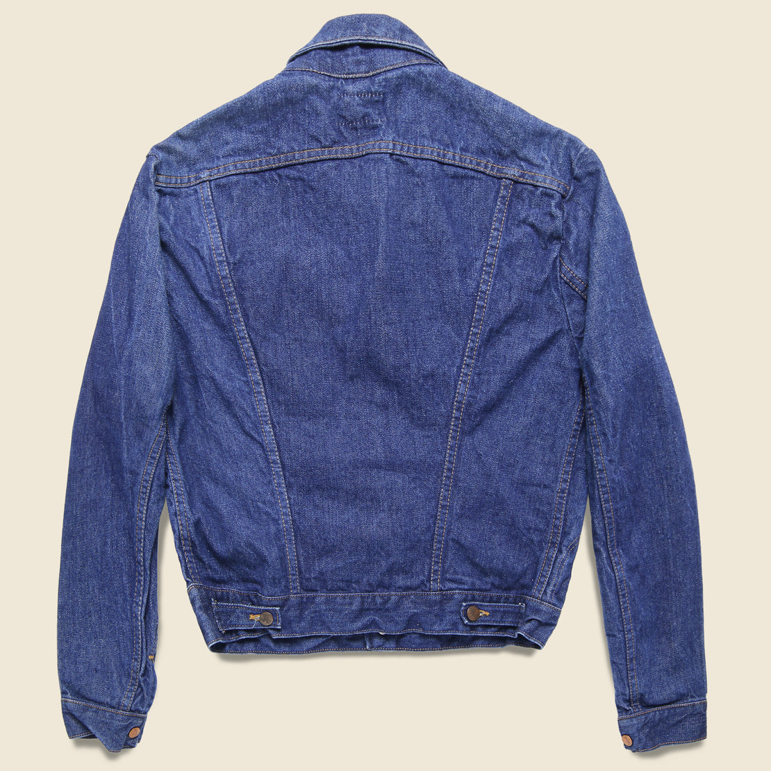Wrangler Selvedge Denim Jacket - Dark Wash