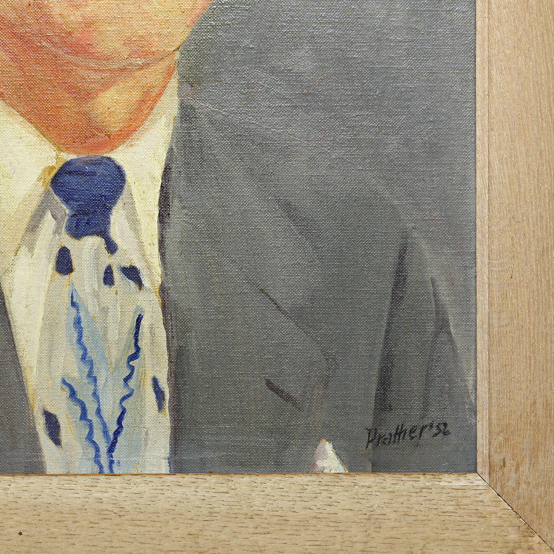 Mid Century Portrait - Suited Man