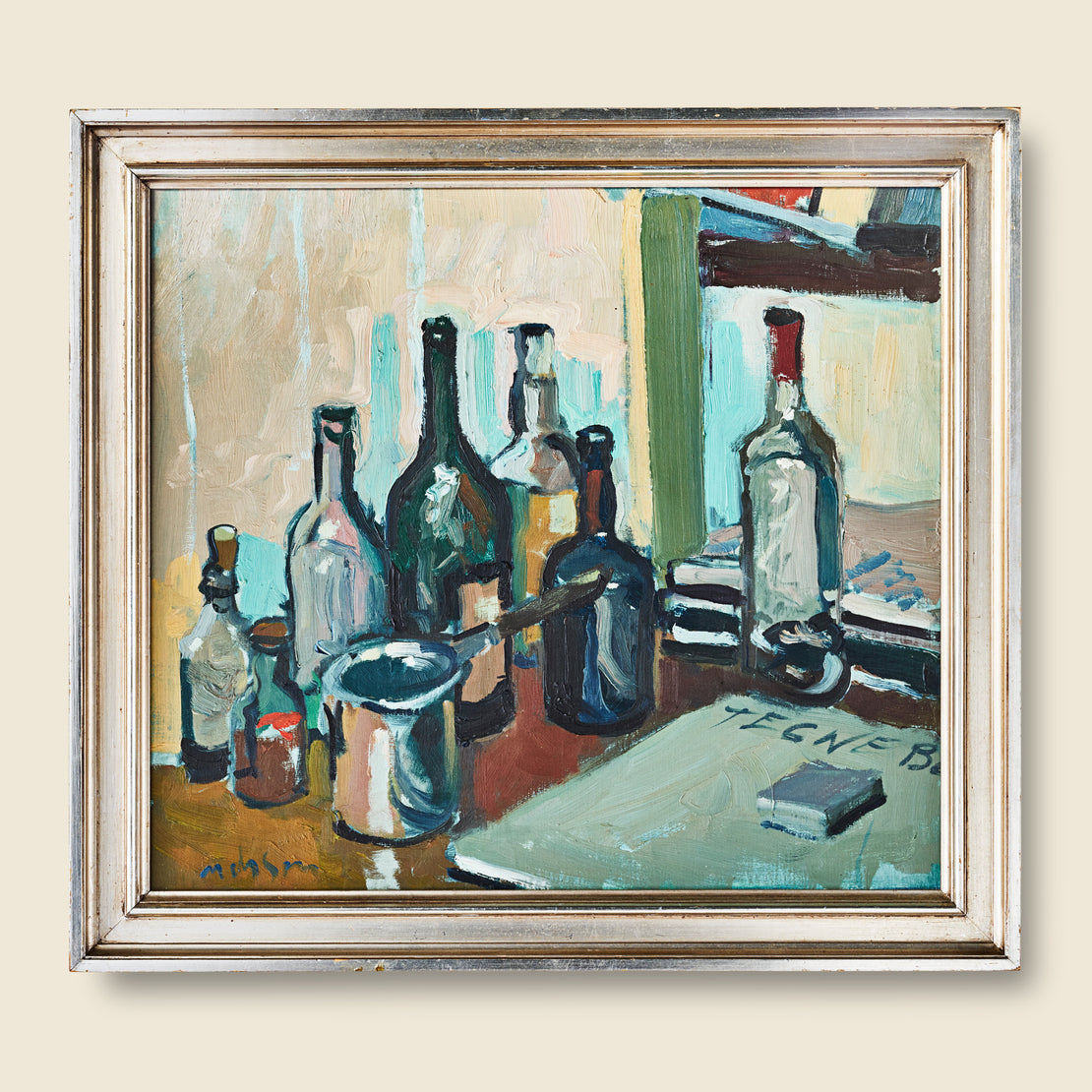 Vintage 1950s Bottle Still Life