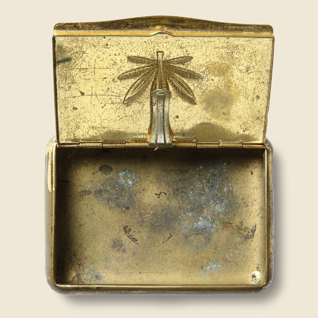 Brass Weed Box - Vintage - STAG Provisions - Gift - Miscellaneous