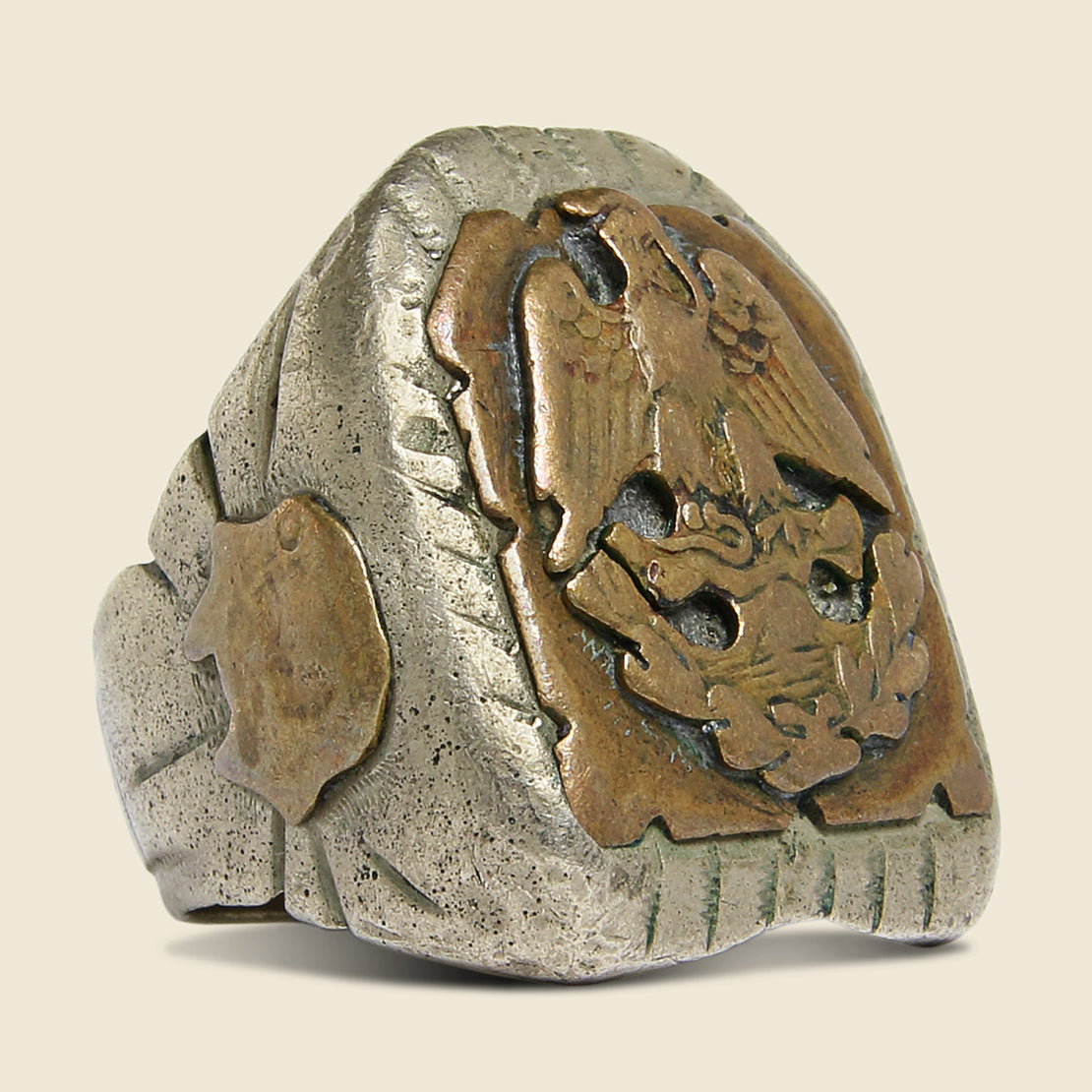 Eagle Crest Mexican Biker Ring