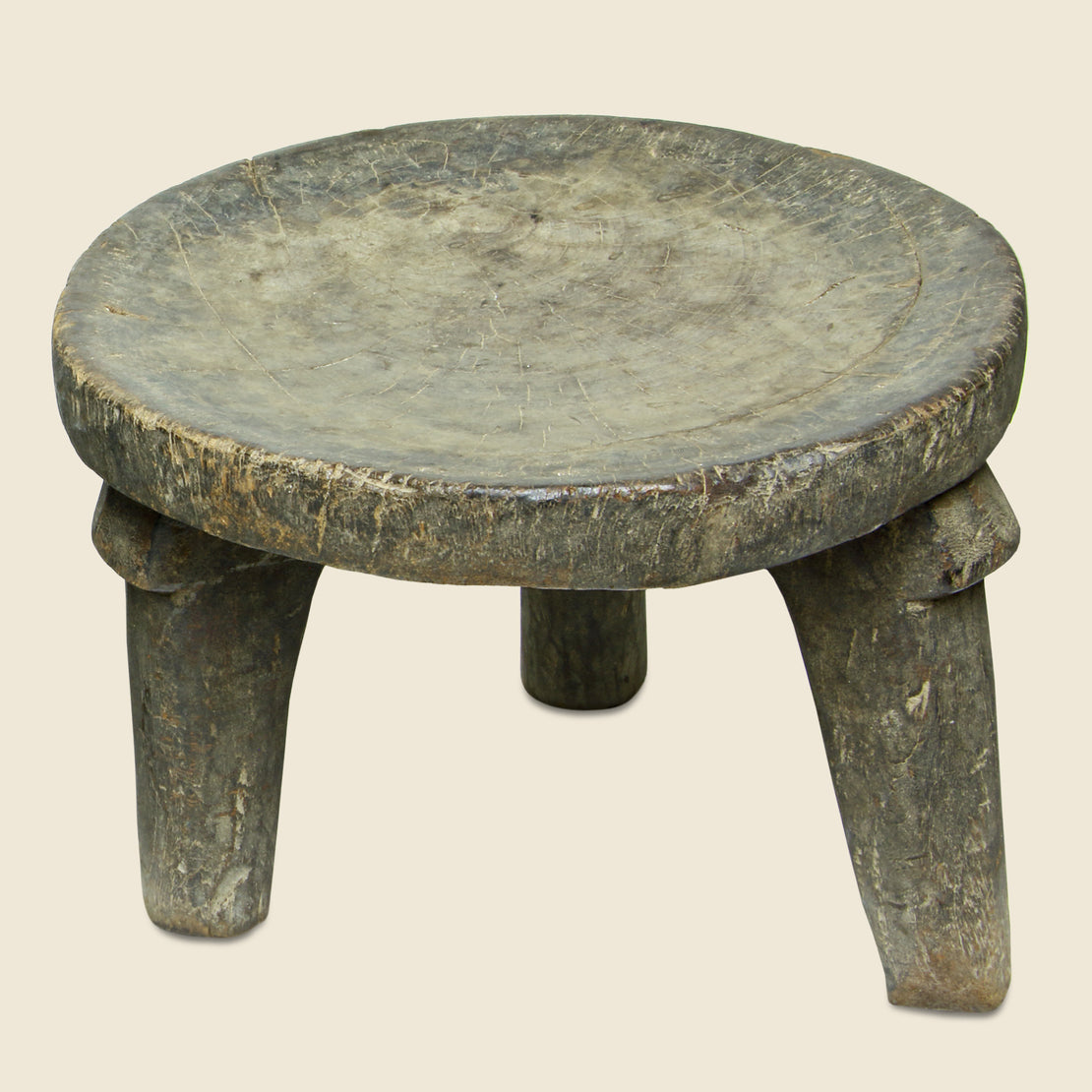 Vintage Small African Stool