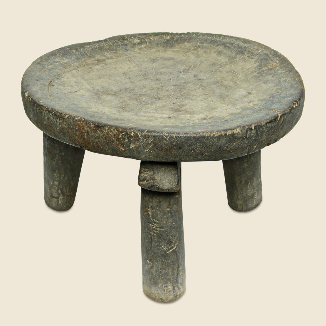 Small African Stool - Vintage - STAG Provisions - One & Done - Furniture