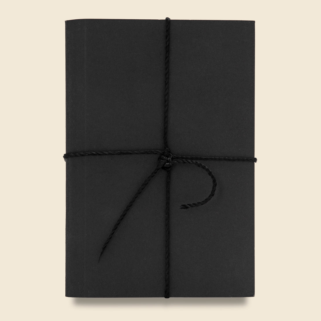 Paper Goods Two Pack Notebook Set - Black