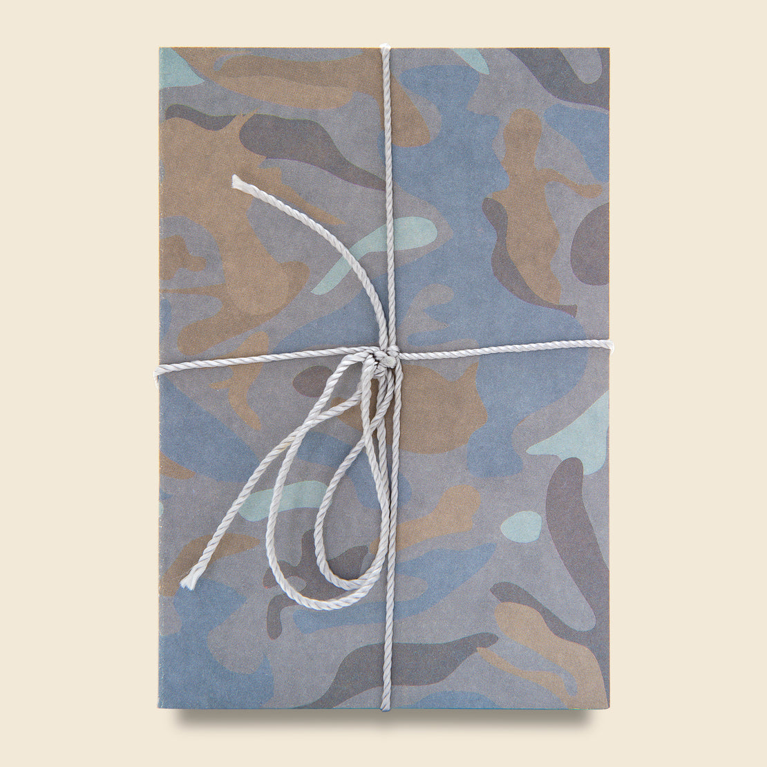 Paper Goods Two Pack Notebook Set - Grey Camo