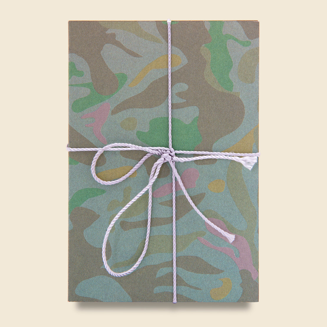 Paper Goods Two Pack Notebook Set - Green Camo