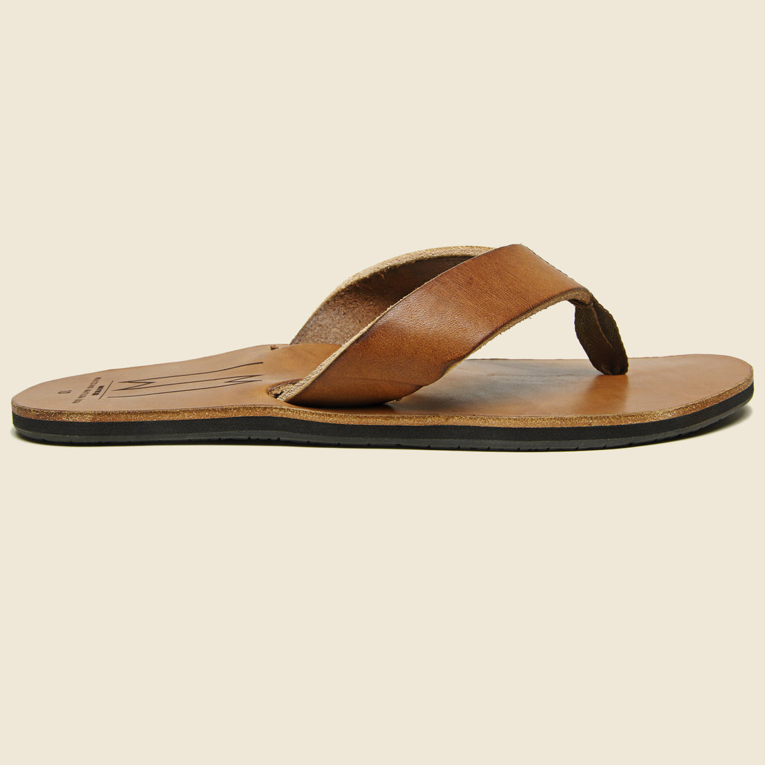 Waltzing Matilda Ace Leather Sandal - Brown