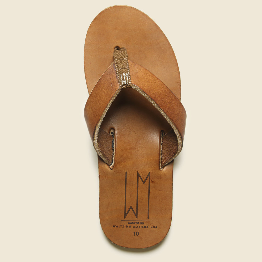 Ace Leather Sandal - Brown