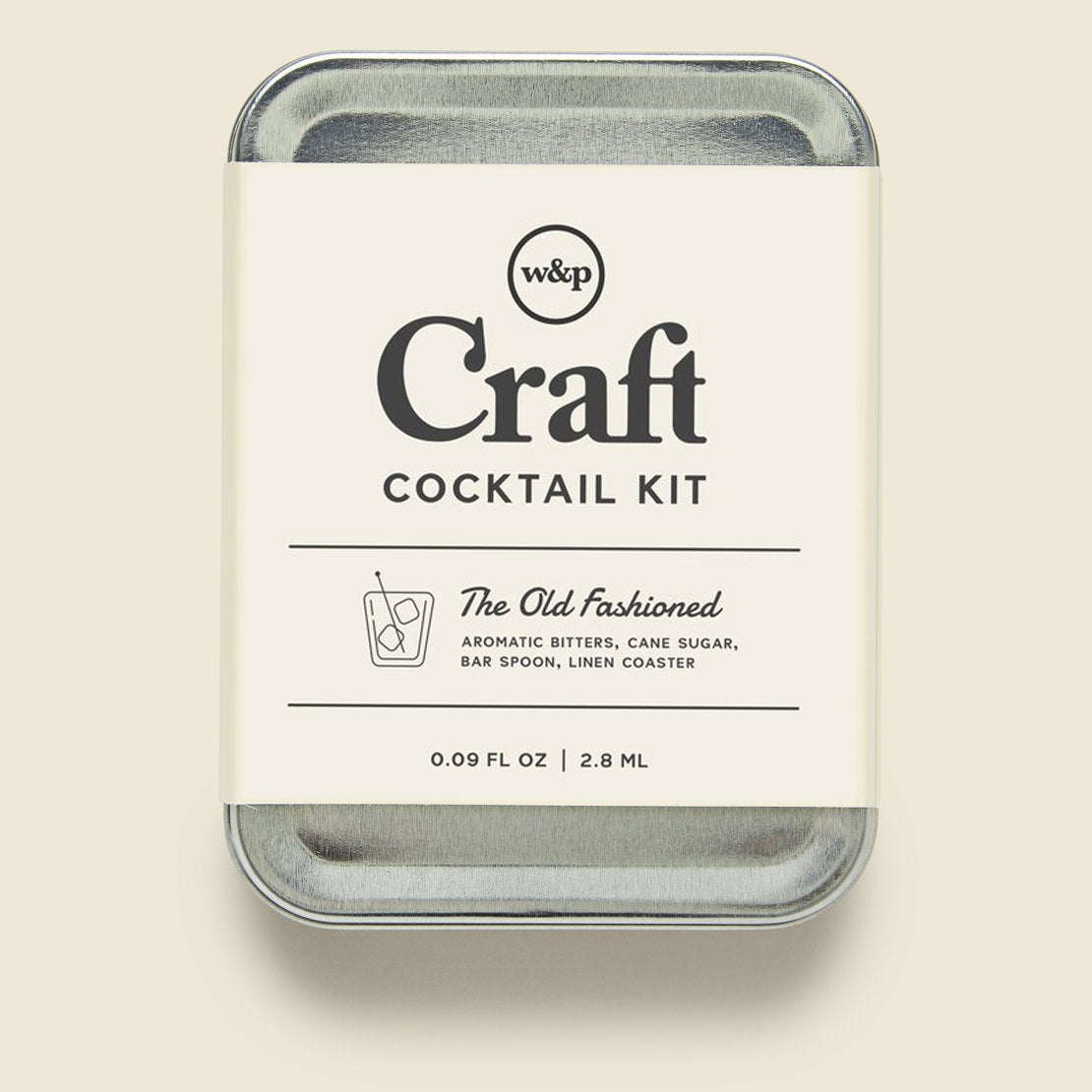 Barware Carry On Cocktail Kit - Old Fashioned