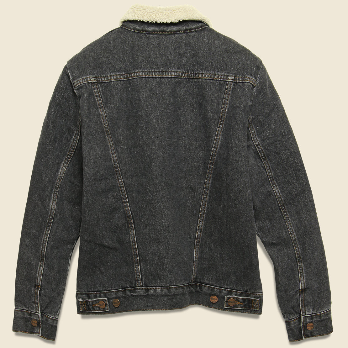 Sherpa Heritage Denim Jacket - Black