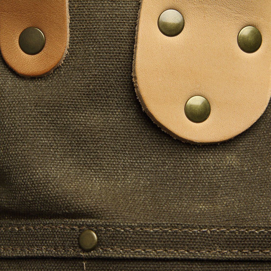 Garrison Waxed Canvas Carry-All - Tan/Natural