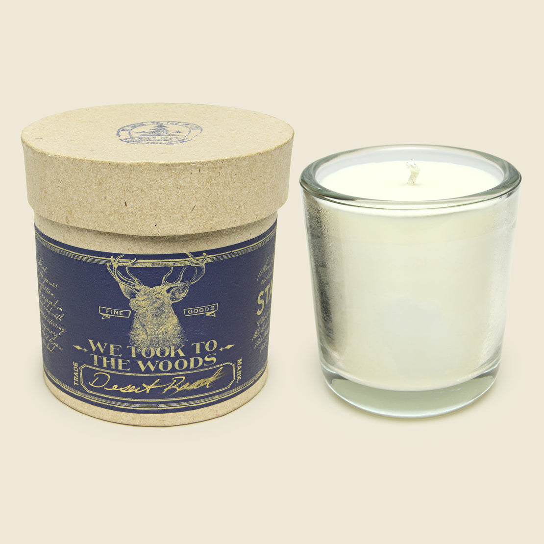 We Took To The Woods Candle 8.5oz - Desert Road for STAG