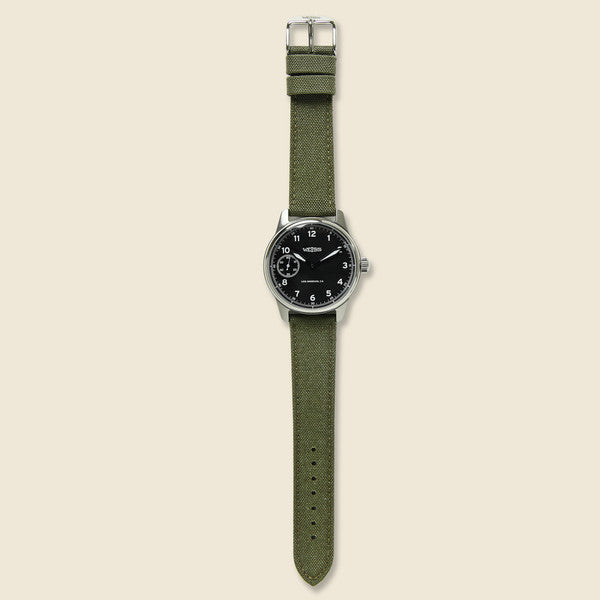 Standard Issue Field Watch - Black/Olive - Weiss Watch Co - STAG Provisions - Accessories - Watches
