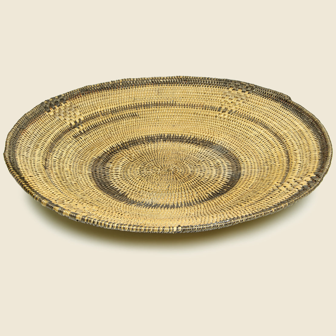 Vintage Large Coiled African Basket