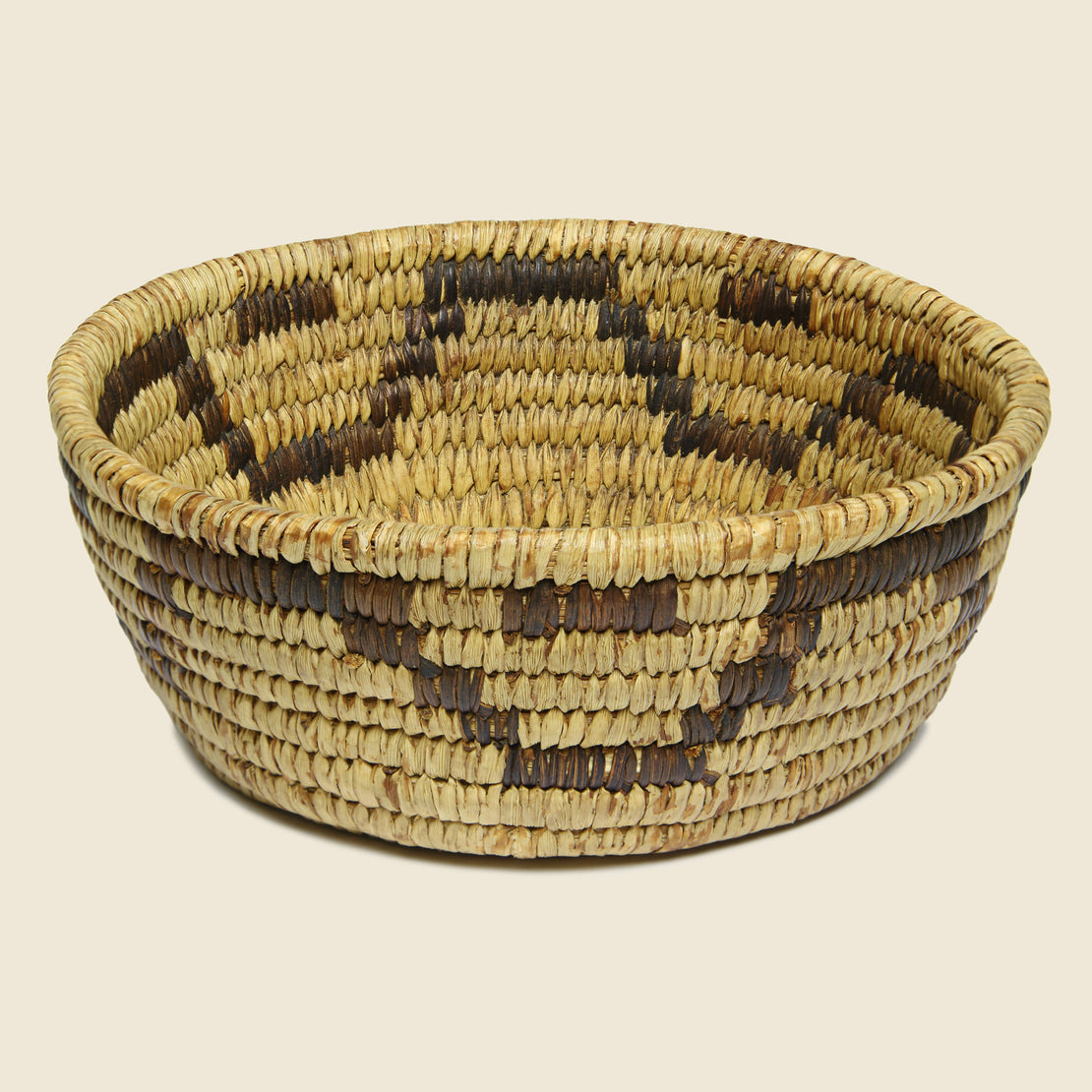 Vintage Papago-Style Native American Basket