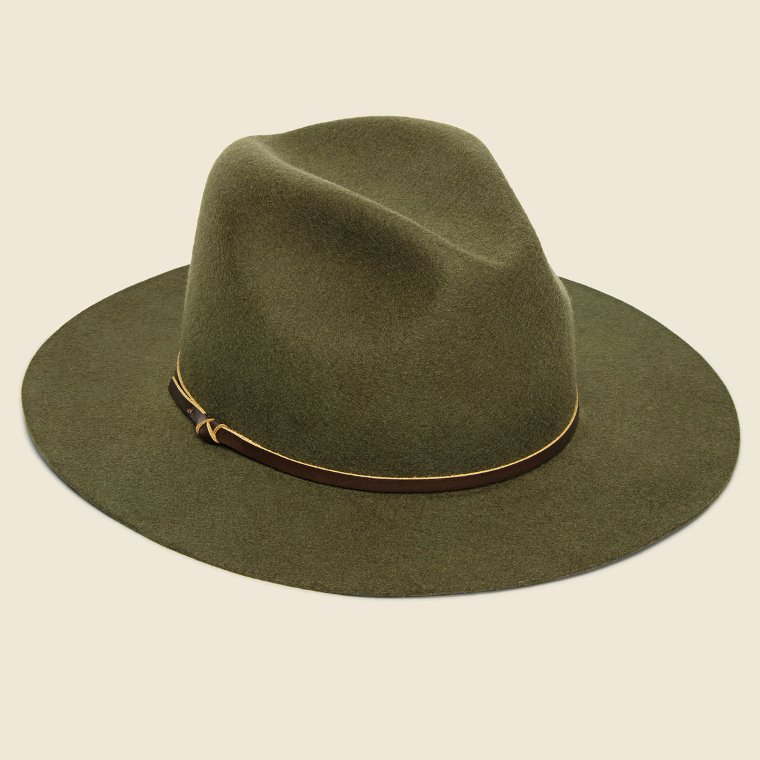Yellow 108 Paul Fedora - Olive