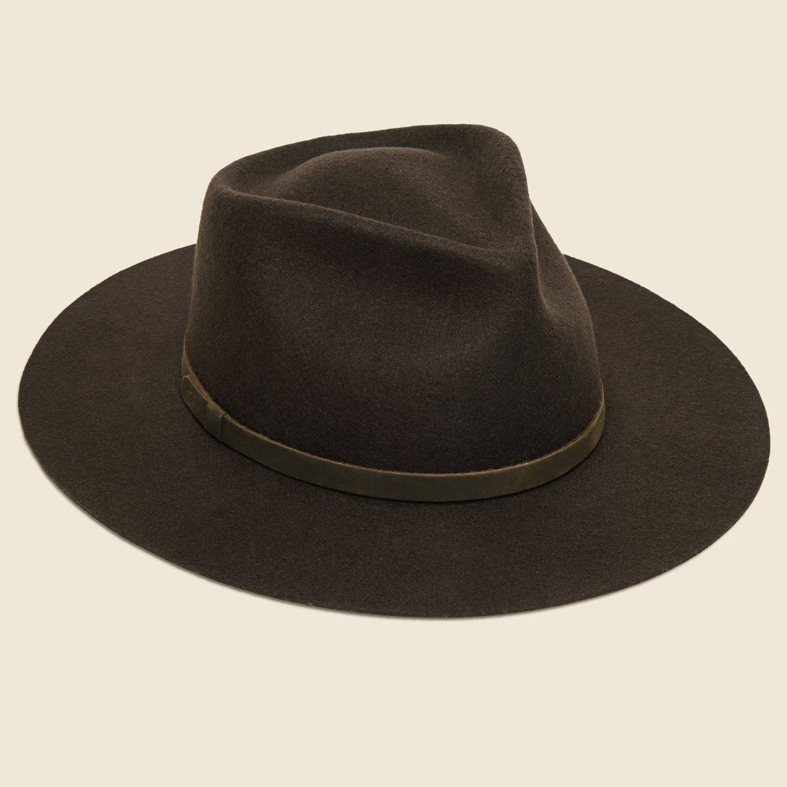 Yellow 108 Dylan Hat - Dark Brown