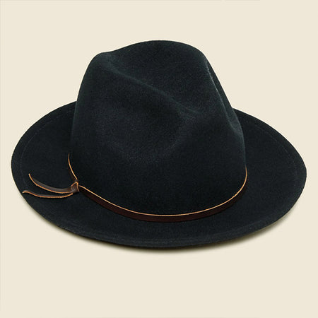 Luke Fedora - Black. Yellow 108 bfdb15ba0eb