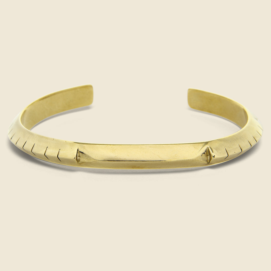 Young in the Mountains Helena Bracelet - Brass
