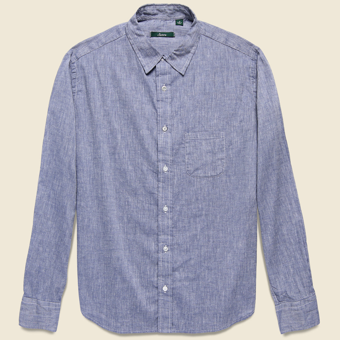 Gitman Vintage Brother Fit Shirt - Navy Chambray