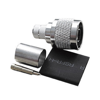 SureCall Crimp Connector - N Male - SC-CN-09