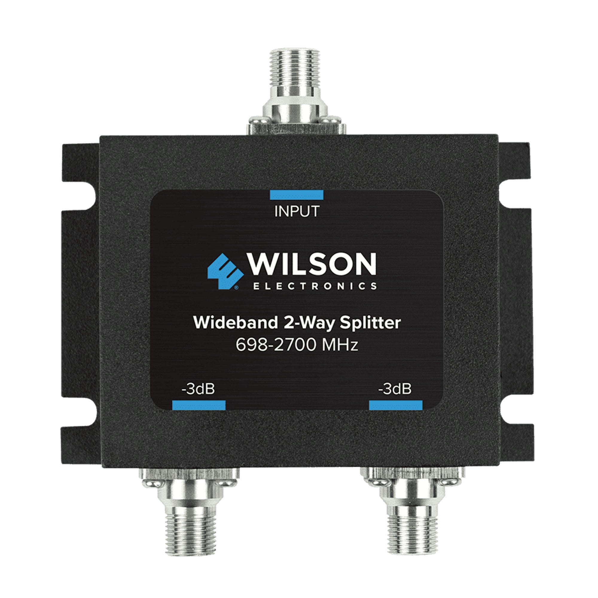 Wilson 2 Way splitter for 698-2700 MHz w/ F female connectors - 850034