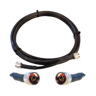 Cable 10' LMR400 eqiv. ultra low loss cable (N male - N male ends)