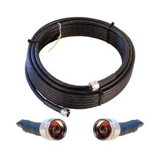 Cable 50' LMR400 eqiv. ultra low loss cable (N male - N male ends)