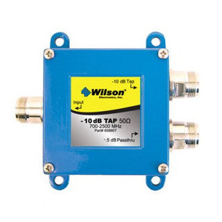 Wilson 10 dB tap w/0.5 dB pass through w/N female connectors