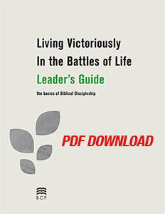Living Victoriously Leader's Guide (Download PDF digital copy) (SPECIAL PRICING*)