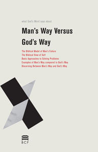 Man's Way vs. God's Way