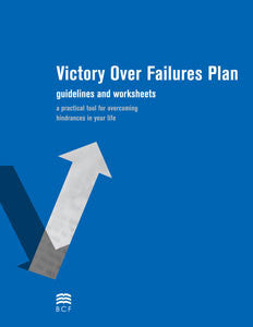 Victory Over Failures Plan Booklet
