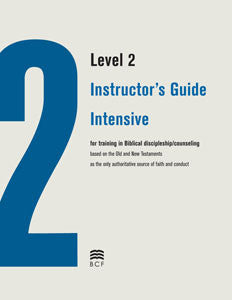 Level 2 Instructor's Guide: Intensive